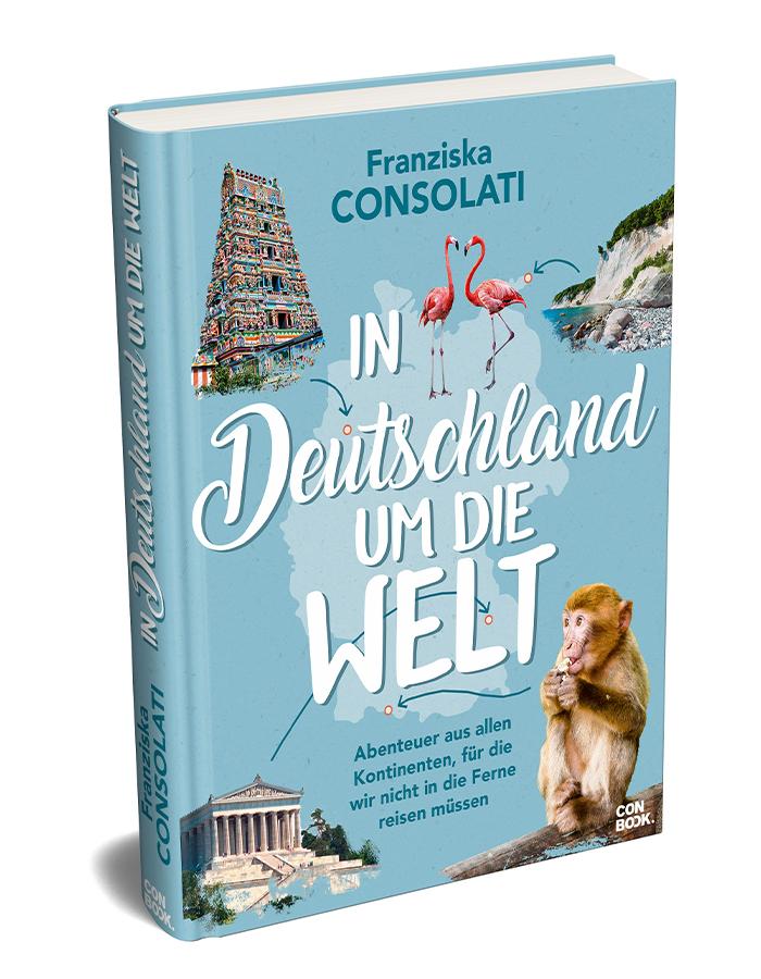 3D Cover von In Deutschland um die Welt